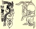 Snail beings - C Borgia, Palenque.jpg