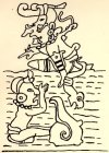 Tlatoc & snailman - Dresden Maya manuscript.jpg