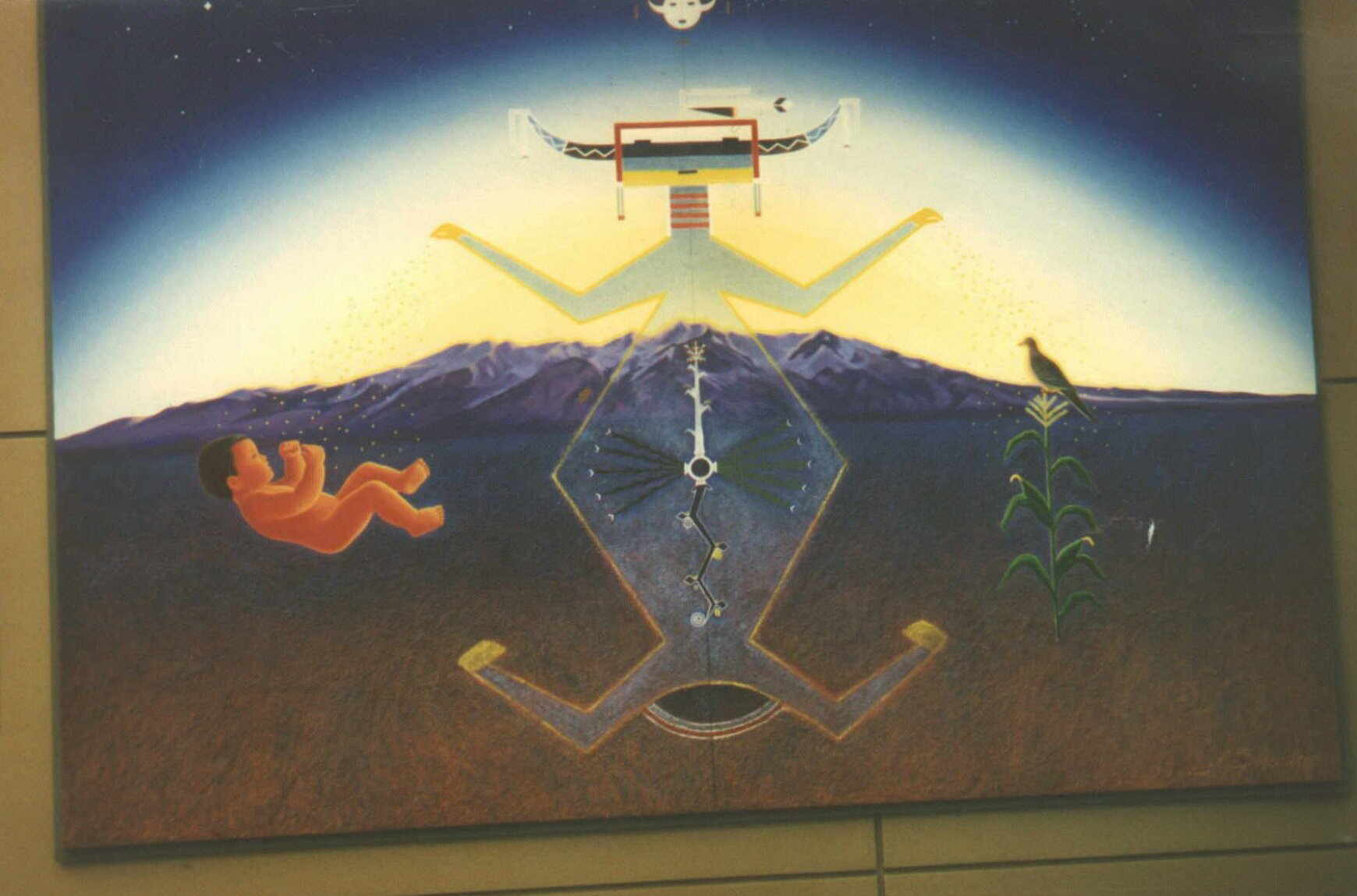 The cassiopaean experiment for Denver international airport mural