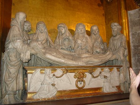Burial of Christ in Auch Cathedral