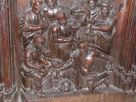 The Gifts of the Magi - Auch Cathedral